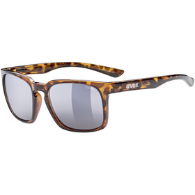 UVEX LGL 35 Brille, havanna/mirror gold